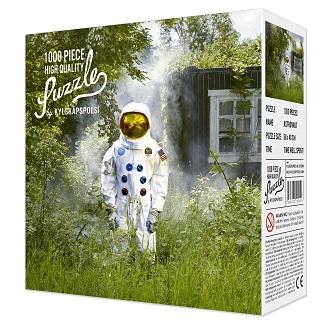 Kylskapspoesi Puzzel de Astronaut 1000 stukjes