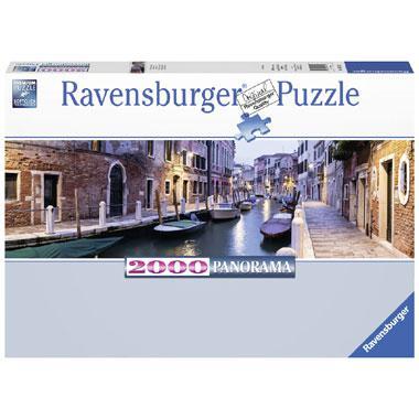 Ravensburger panorama puzzel Venetie in de avond 2000 stukjes