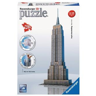 Ravensburger 3D puzzel Empire State Building 216 stukjes