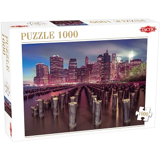 Tactic puzzel wolkenkrabbers in New York 1000 stukjes