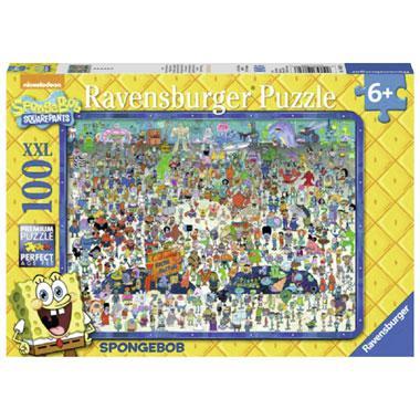 Ravensburger puzzel XXL Spongebob Squarepants 100 stukjes vanaf