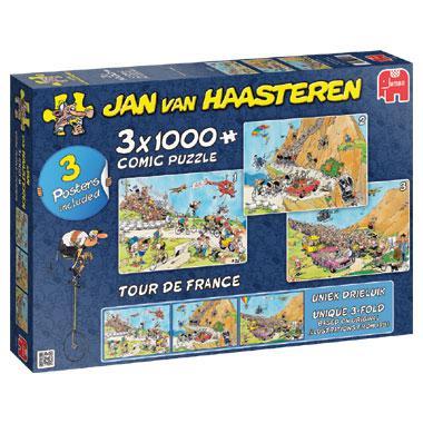 Jumbo Jan van Haasteren legpuzzel Tour de France 1000 stukjes