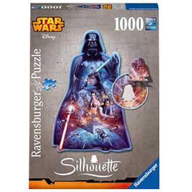 Ravensburger star wars silhouettepuzzel Darth Vader 1000 stukjes