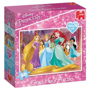 Jumbo Disney Princess grote vloerpuzzel 50 stukjes vanaf 5 jaar