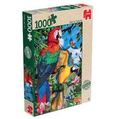 Jumbo legpuzzel Prachtige Papegaaien 1000 stukjes