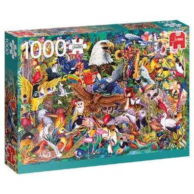 Jumbo legpuzzel Dierenrijk 1000 stukjes