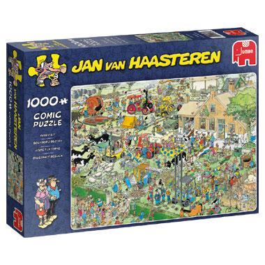Jumbo Jan van Haasteren legpuzzel Boerderij Bezoek 1000 stukjes