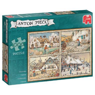 Jumbo Anton Pieck legpuzzel 4 Seizoenen 1000 stukjes