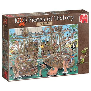 Jumbo Pieces of History legpuzzel De Piraten 1000 stukjes