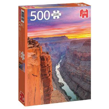 Jumbo legpuzzel Grand Canyon Vs 500 stukjes