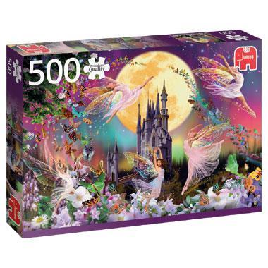 Jumbo legpuzzel Dansende Elfen 500 stukjes