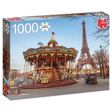 Jumbo legpuzzel Parijs le Carrousel 1000 stukjes