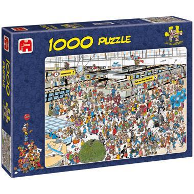 Jumbo Jan van Haasteren legpuzzel Vertrekhal 1000 stukjes