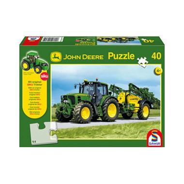 Schmidt kinderpuzzel Tractor 40 stukjes vanaf 4 jaar