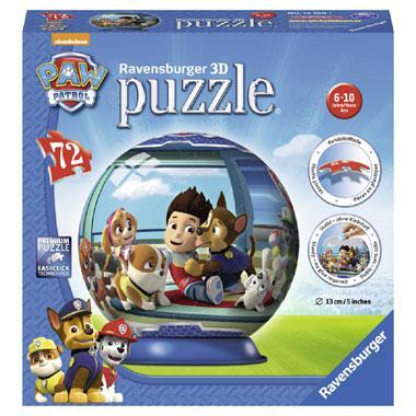 Ravensburger Paw Patrol 3D puzzel heldhaftige pups 72 stukjes va