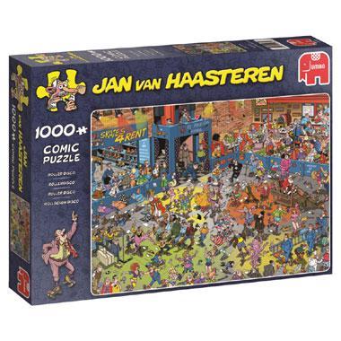 Jumbo Jan van Haasteren legpuzzel Rollerdisco 1000 stukjes
