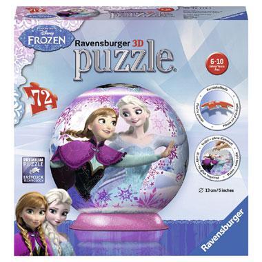 Ravensburger Disney frozen 3D puzzel met Elsa en Hans 72 stukjes