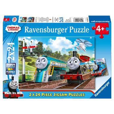 Ravensburger kinderpuzzel Thomas & Friends 24 stukjes vanaf 4 ja
