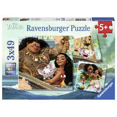 Ravensburger Disney vaiana kinderpuzzel Vaianas Ontdekkingsreis