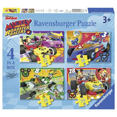 Ravensburger Disney kinderpuzzel Mickey and the Roadster Racers