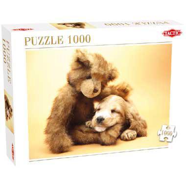 Tactic legpuzzel Puppy and a Teddy Bear 1000 stukjes