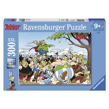 Ravensburger Asterixen ObelixXXL puzzel de Galliers gaan Los 300