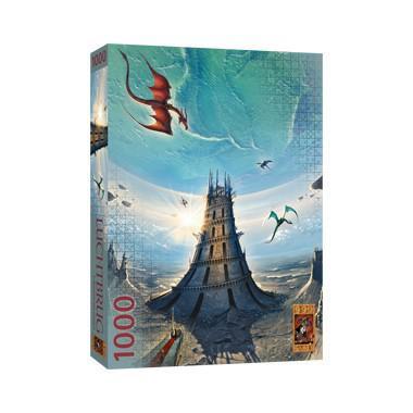 999 Games speciale puzzel Luchtbrug Bouwen aan Morgen