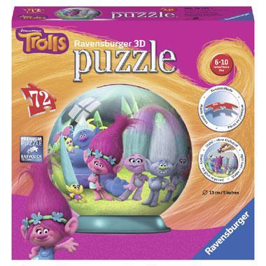 Ravensburger 3D puzzel Trolls 72 stukjes vanaf 6 jaar