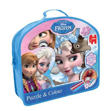 Jumbo vloerpuzzel Disney frozen 24 stukjes vanaf 2 jaar