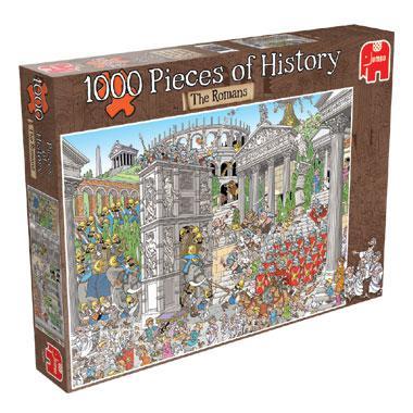 Jumbo Pieces of History legpuzzel De Romeinen 1000 stukjes