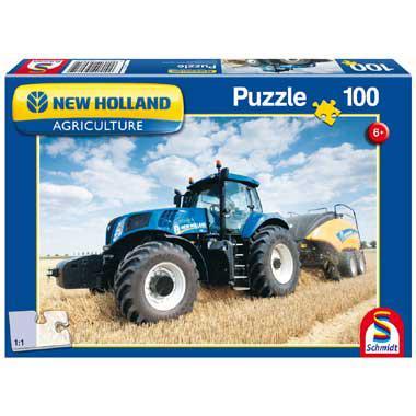 Schmidt legpuzzel New Holland 100 stukjes vanaf 6 jaar