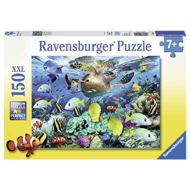 Ravensburger XXL kinderpuzzel Onderwaterparadijs 150 stukjes van