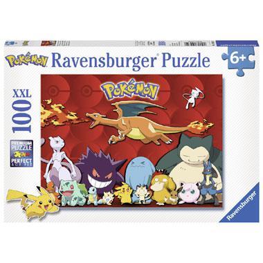 Ravensburger XXL kinderpuzzel Pokemon 100 stukjes vanaf 6 jaar