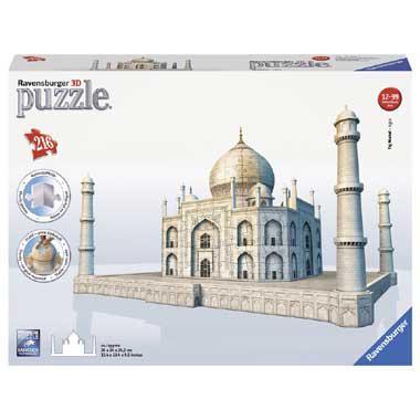 Ravensburger 3D puzzel taj mahal 216 stukjes