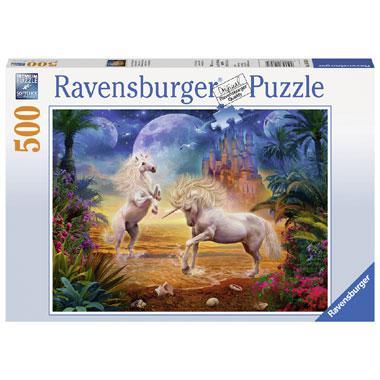 Ravensburger legpuzzel schitterende Eenhoorns 500 stukjes