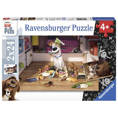 Ravensburger The Secret Life of Pets kinderpuzzel Onaantastbaar