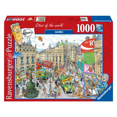 Ravensburger Flerouxlegpuzzel Cities of the World London 1000 st