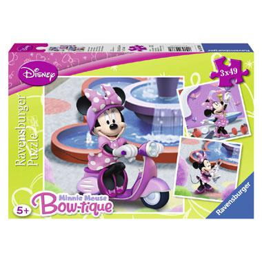 Ravensburger Disney Minnie Mouse kinderpuzzel In het Park 3 stuk