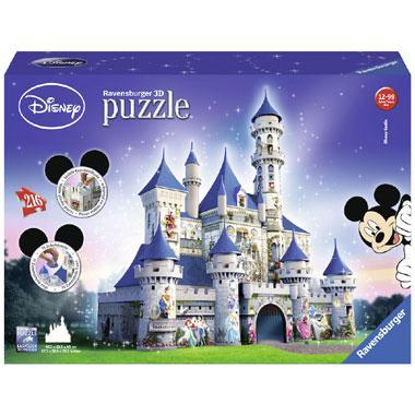 Ravensburger 3D puzzel Disney Castle 216 stukjes