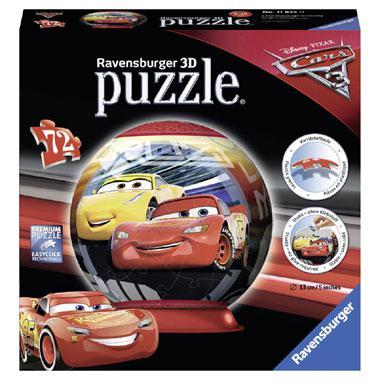 Ravensburger 3D puzzel Disney Cars 3 72 stukjes vanaf 3 jaar
