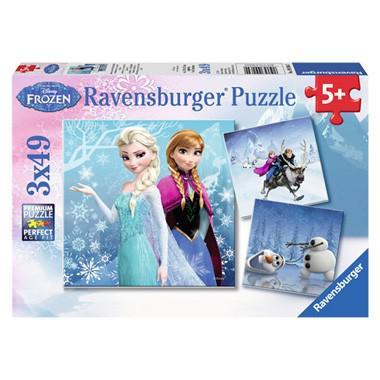 Ravensburger Disney frozen kinderpuzzel Avontuur in Winterland 4