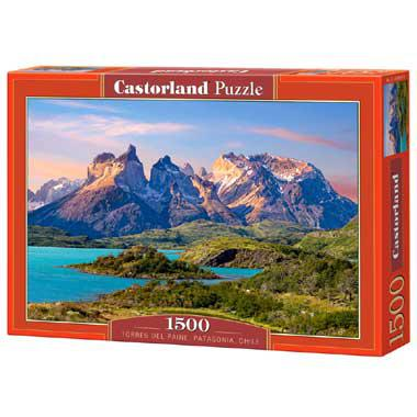 Selecta Castorland legpuzzel Torres Paine Patagonia in Chili 150