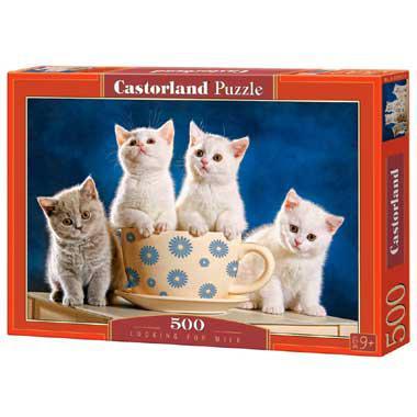 Selecta Castorland legpuzzel Looking for Milk 500 stukjes vanaf