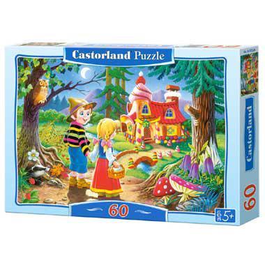 Selecta Castorland kinderpuzzel Hans and Grietje 60 stukjes vana