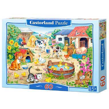 Selecta Castorland kinderpuzzel Boerderij Dieren 60 stukjes vana