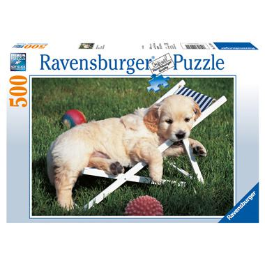 Ravensburger legpuzzel Golden Retriever 500 stukjes
