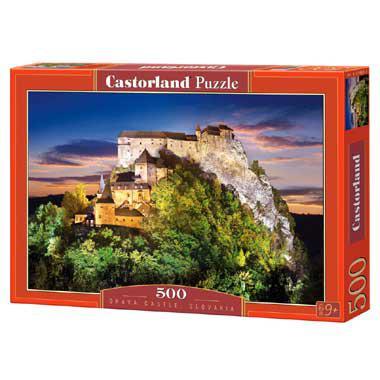 Selecta Castorland legpuzzel Orava Kasteel Slovakia 500 stukjes