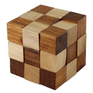 Longfield Games Iq puzzel kubus slang 0 stukjes vanaf 6 jaar