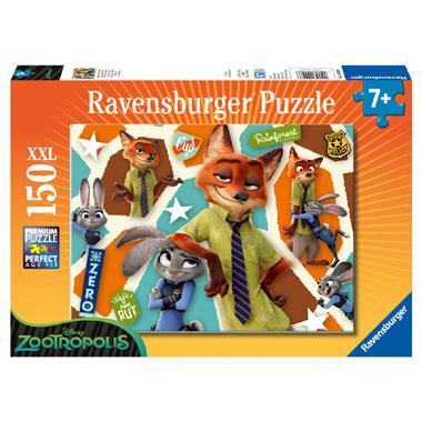 Ravensburger Disney Zootropolis XXL puzzel een Sluw Team 150 stu