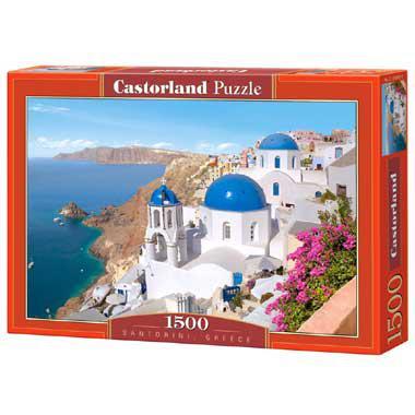 Selecta Castorland legpuzzel Santorini Greece 1500 stukjes vanaf